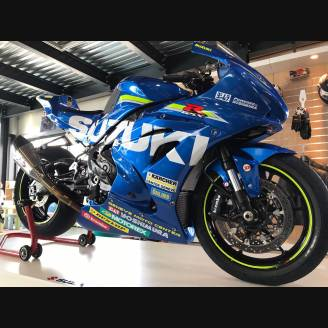 Painted Race Fairings Suzuki Gsxr 1000 2017 - 2019 - MXPCRV7001