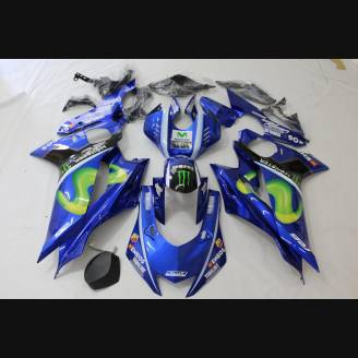 Complete and painted fairings in abs YAM17 OPC