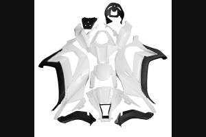 Carene abs complete di parafango da verniciare ad Inezione
