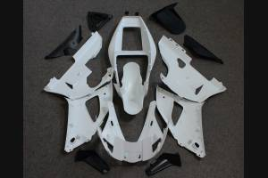 Complete and unpainted fairing in abs with front fender INJ