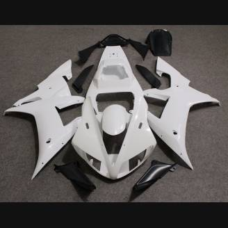 Complete and unpainted fairing in abs without front fender INJ