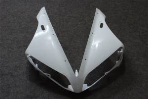 Complete and unpainted fairing in abs without front fender