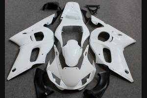 Complete and unpainted fairings in abs with front fender INJ