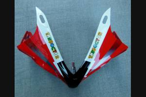Complete and painted fairings in abs YMH R1 E BF