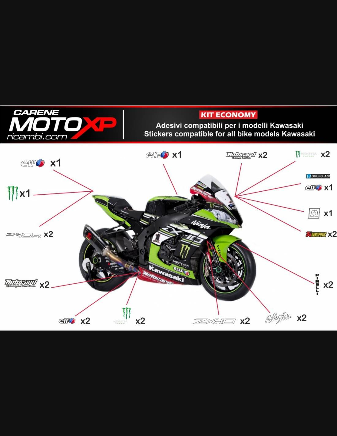 Auto Parts And Vehicles Zx 9r 2003 Ninja Full Decals