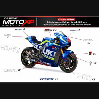 Sticker set compatible with Suzuki Gsxr 1000 2005 - 2006 - MXPKAD10333