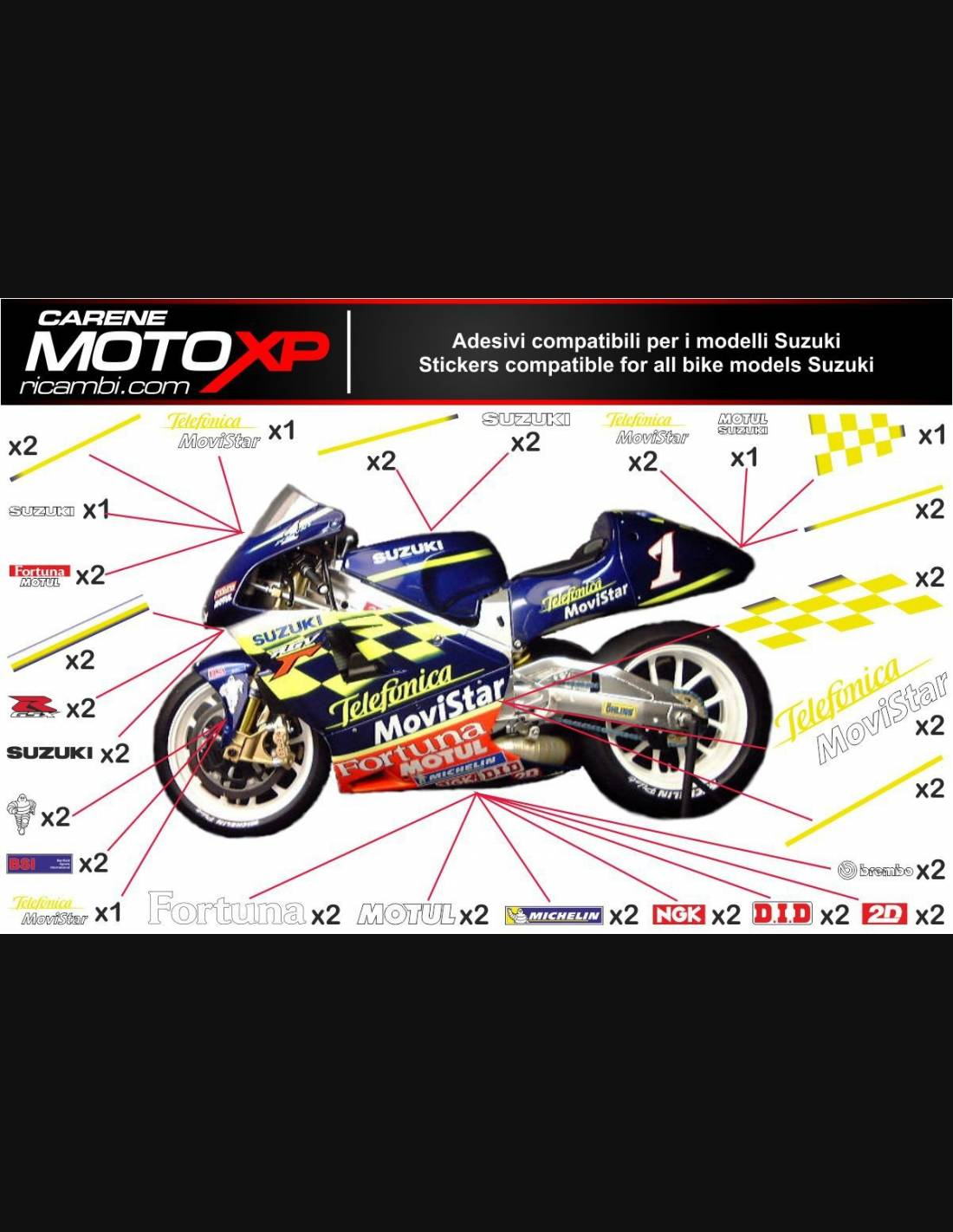 Stickers Protection Fender 01 Compatible With Suzuki V-STROM 650 2017-2021