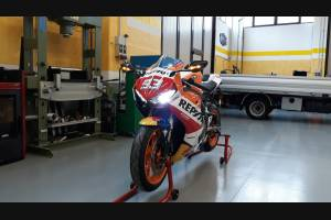Complete and painted fairings in abs HND CBR 1 D RPS