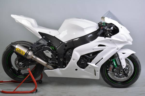 Complete fairing in 5 pieces without front fender