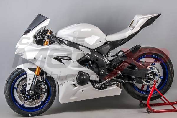 Complete fairings in 5 Pieces without front fender Vs2