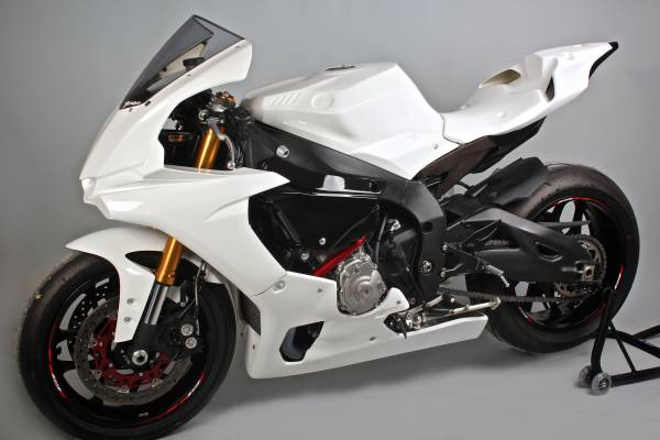 Complete fairing without front fender  VS