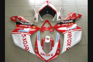 Complete and painted fairings in abs XEROX 2009