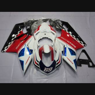 Complete and painted fairings in abs HAYDEN