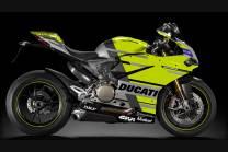 Carénages ABS peinture strett  Ducati 1299 Panigale  DU12 MTRRED
