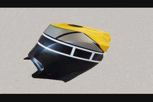 Complete and painted Racing fairings Yamaha R1 2015 2019 YAMR1760ANGR