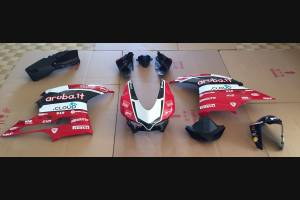 Racing Ducati 959 1299 Panigale Complete and painted fairings with back seat original seat Aruba SBK16