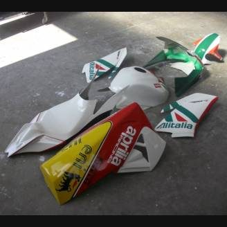 Complete and painted fairings SBK 2010 ALITALIA