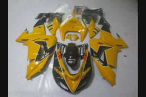 Complete and painted fairings in abs ORANGE