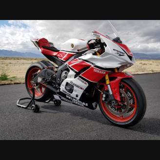 Complete and painted fairings YMR617 ANV