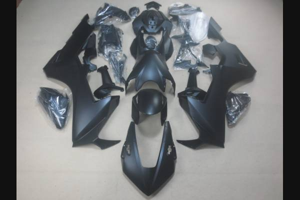 Complete and painted fairings in abs HND CBR 1 E BL Matt Black  + Free stickers