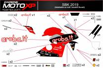 Stickers Kit Ducati  SB19