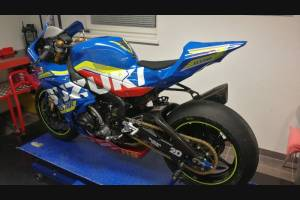 Motoxpricambi Race Package : Complete and racing fairings + Fasteners + Screws SZ17 BLDR