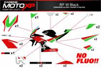 Stickers Kit Aprilia RSV4 RF W BL