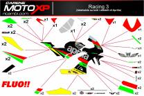 Kit Stickers Aprilia Adesivi RSV4 Racing3 FL