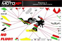 Stickers Kit Aprilia RSV4 Racing3