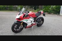 carenado ABS barnizado carrettera Ducati Panigale V4 para escape Akrapovic DUCV4 SP