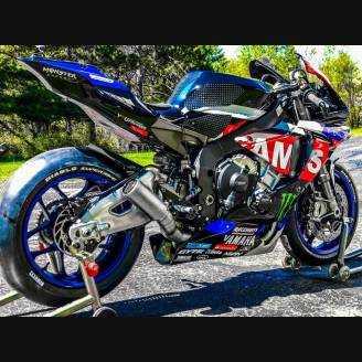 Painted Race Fairings Yamaha R1 2015 2019 Mxpcrv11802