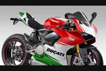 Complete and painted fairings in abs Ducati Panigale V4 for Akrapovic exhaust DUCV4FE