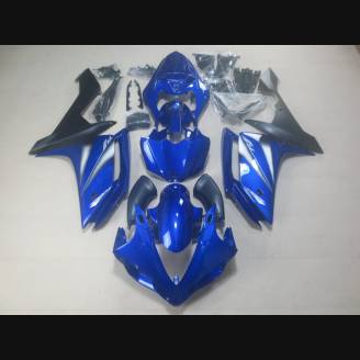 Complete and painted fairings in abs YMH R1 E BLTR