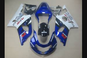 Painted street fairings in abs compatible with Suzuki Gsxr 1000 2001 - 2002 - MXPCAV1584