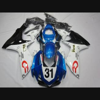Painted street fairings in abs compatible with Suzuki Gsxr 600/750 2011 - 2018 - MXPCAV3131