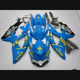 Painted street fairings in abs compatible with Suzuki Gsxr 600/750 2008 - 2010 - MXPCAV1991