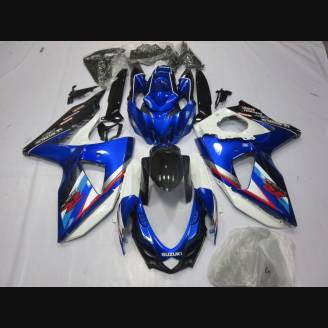 Painted street fairings in abs compatible with Suzuki Gsxr 600/750 2008 - 2010 - MXPCAV2147