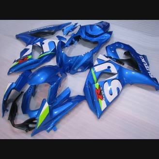 Painted street fairings in abs compatible with Suzuki Gsxr 1000 2009 - 2016 - MXPCAV2705