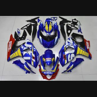 Painted street fairings in abs compatible with Suzuki Gsxr 1000 2009 - 2016 - MXPCAV2704