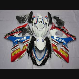 Painted street fairings in abs compatible with Suzuki Gsxr 1000 2009 - 2016 - MXPCAV2702