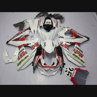 Painted street fairings in abs compatible with Suzuki Gsxr 1000 2009 - 2016 - MXPCAV2701