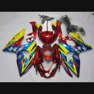Painted street fairings in abs compatible with Suzuki Gsxr 1000 2009 - 2016 - MXPCAV2698