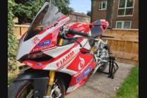 Lackierte Straße Verkleidung auf ABS kompatibel mit Ducati 899 1199 Panigale - MXPCAV4844