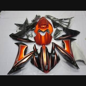 Painted street fairings in abs compatible with Yamaha R1 2004 - 2006 - MXPCAV1816