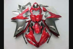 Painted street fairings in abs compatible with Yamaha R1 2007 - 2008 - MXPCAV2157