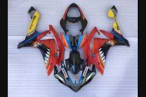 Carene stradali in abs verniciate compatibili con Yamaha R1 2007 - 2008 - MXPCAV1757