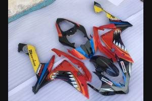 Painted street fairings in abs compatible with Yamaha R1 2007 - 2008 - MXPCAV1757