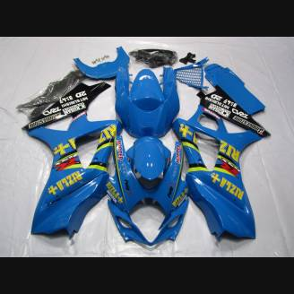 Painted street fairings in abs compatible with Suzuki Gsxr 1000 2007 - 2008 - MXPCAV1829