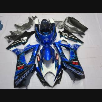 Painted street fairings in abs compatible with Suzuki Gsxr 1000 2007 - 2008 - MXPCAV2141