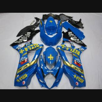 Painted street fairings in abs compatible with Suzuki Gsxr 1000 2007 - 2008 - MXPCAV2143